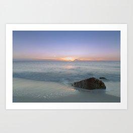 A Calm Sea Art Print