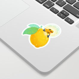 Golden poison lemon sherbet 1 Sticker