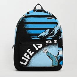 Snowboard T-Shirt Gift Winter Outfit Backpack