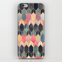 iPhone & iPod Skins featuring Stained Glass 3 by Elisabeth Fredriksson