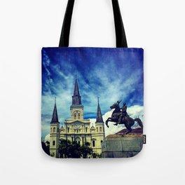 Jackson Square Tote Bag