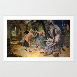 The Paradise Theme Art Print