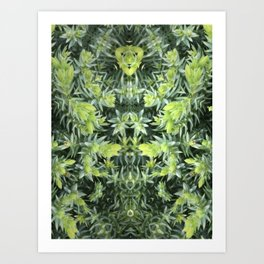 The Pine Angel Art Print