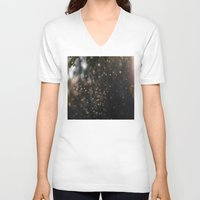 bugs V-neck T-shirts featuring Bugs by Dora Birgis