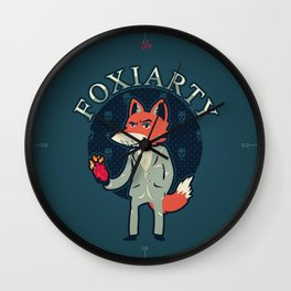 Foxiarty Wall Clock