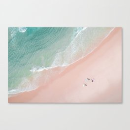 Surf Yoga II Canvas Print
