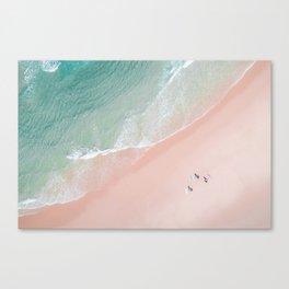 Surf Yoga II Canvas Print
