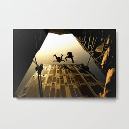 Parachutisme 4 Metal Print