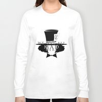 mad hatter Long Sleeve T-shirts featuring Mad Hatter by Rose's Creation