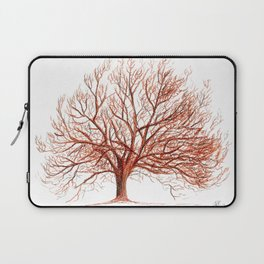 Lonely tree in autumn Laptop Sleeve