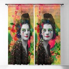Colorful tears Blackout Curtain