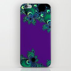 Asymmetrical Fractal 218 iPhone & iPod Skin