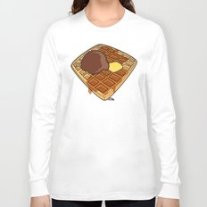 Waffle Time is Anytime. Long Sleeve T-shirt