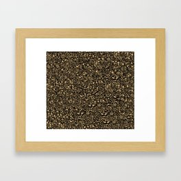 So stunning pattern! Framed Art Print