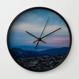 Lone Peak Wall Clock
