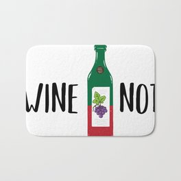 Wine not Bath Mat