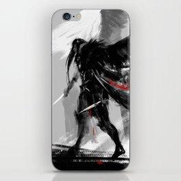 Ravens wings iPhone Skin