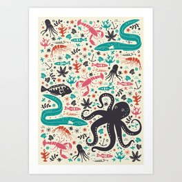 Sea Patrol Art Print