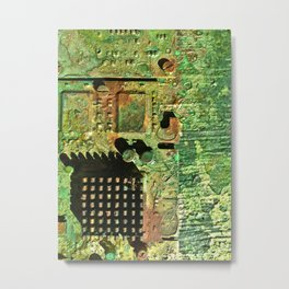Electronic Integration V Metal Print