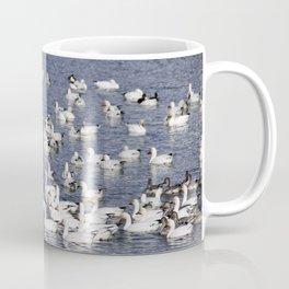 Snow Geese at Centennial Beach Coffee Mug