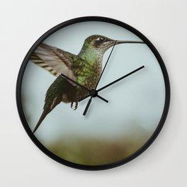 Hummingbird Wall Clock