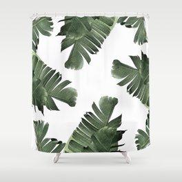 Banana Leaf Frenzy #society6 Shower Curtain