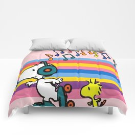 Snoopy and Skateboard Comforters