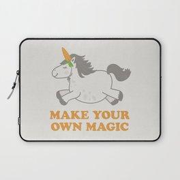 Make Your Own Magic - Pony Turned Unicorn Laptop Sleeve