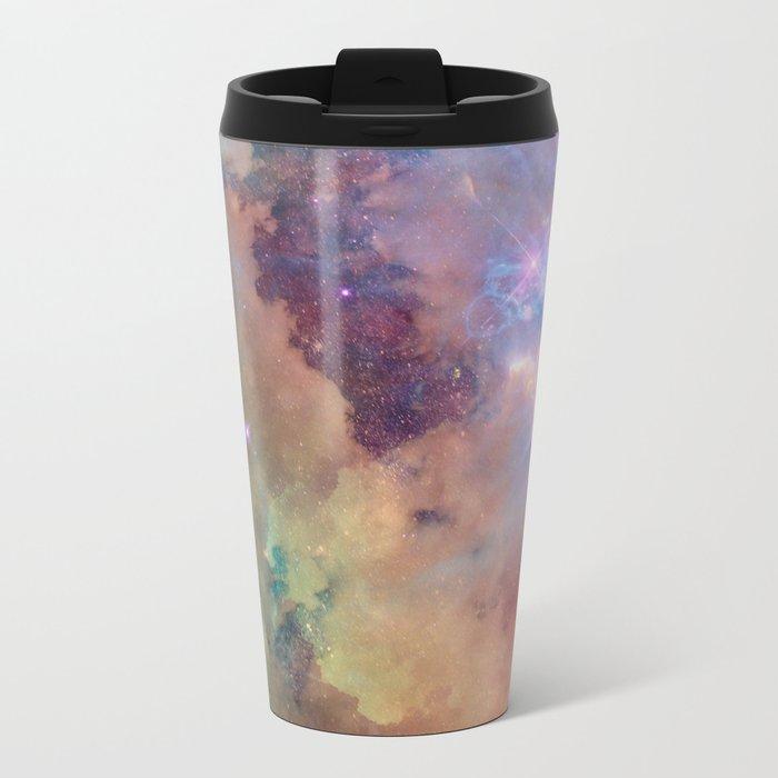 Celestial Sky Metal Travel Mug