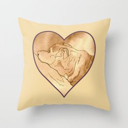 Lost In The Land Of Dreams 4 Throw Pillow