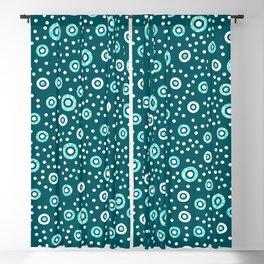 Simple Polka Dots Artwork Blackout Curtain