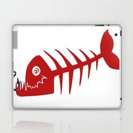 Pirate Bad Fish red- pezcado Laptop & iPad Skin