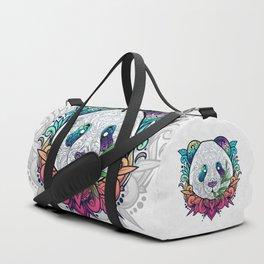 Hello Panda Duffle Bag