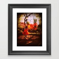 Autumn Fae Framed Art Print