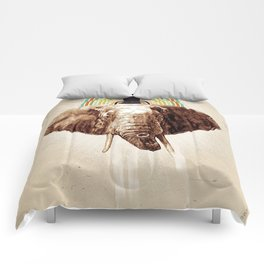 "Glue Network Print Series ""Environment & Animals"" Comforters"