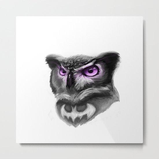 Magic owl Metal Print