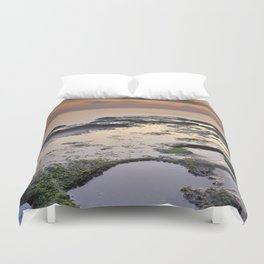 Reflections in the paradise Duvet Cover