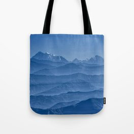 Blue Hima-layers Tote Bag
