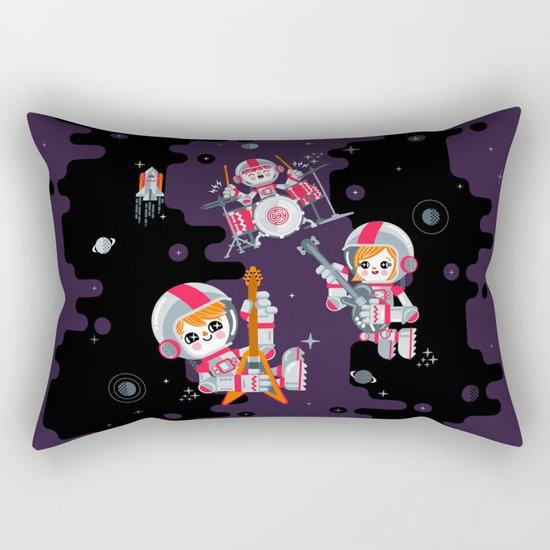 Space Rock Rectangular Pillow