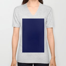 Moonlight Blue Unisex V-Neck