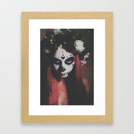 The Day of the Dead Framed Art Print