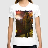 egypt T-shirts featuring Egypt Rising Science Fiction by BohemianBound
