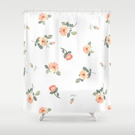 Easy, Breezy Floral Shower Curtain