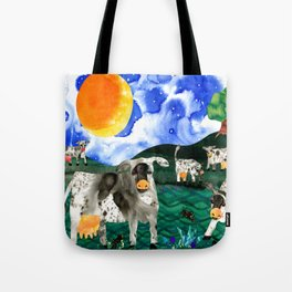 Cow Meadow Tote Bag