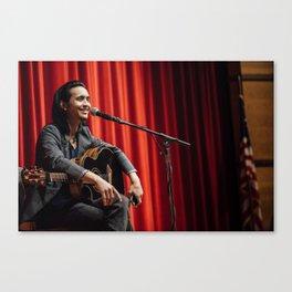 Shun Ng performs in Salem MA Canvas Print