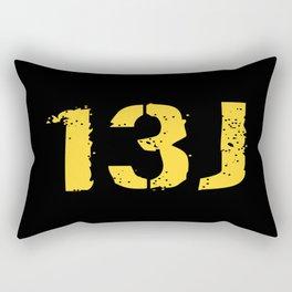 13J Fire Control Specialist Rectangular Pillow