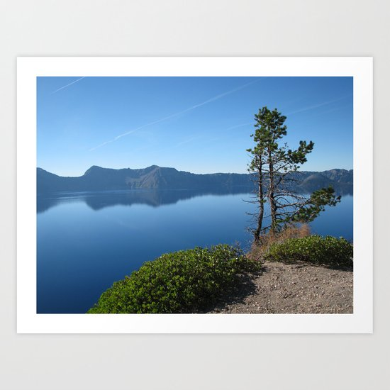 Crater Lake II Art Print
