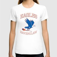 ravenclaw T-shirts featuring Eagles Ravenclaw by Fresco Umbiatore