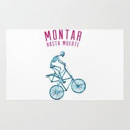 """Skeleton Bike - """"Montar Hasta Muerte"""" Rug"""