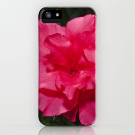 A Beautiful Pink Peony Flower iPhone Case